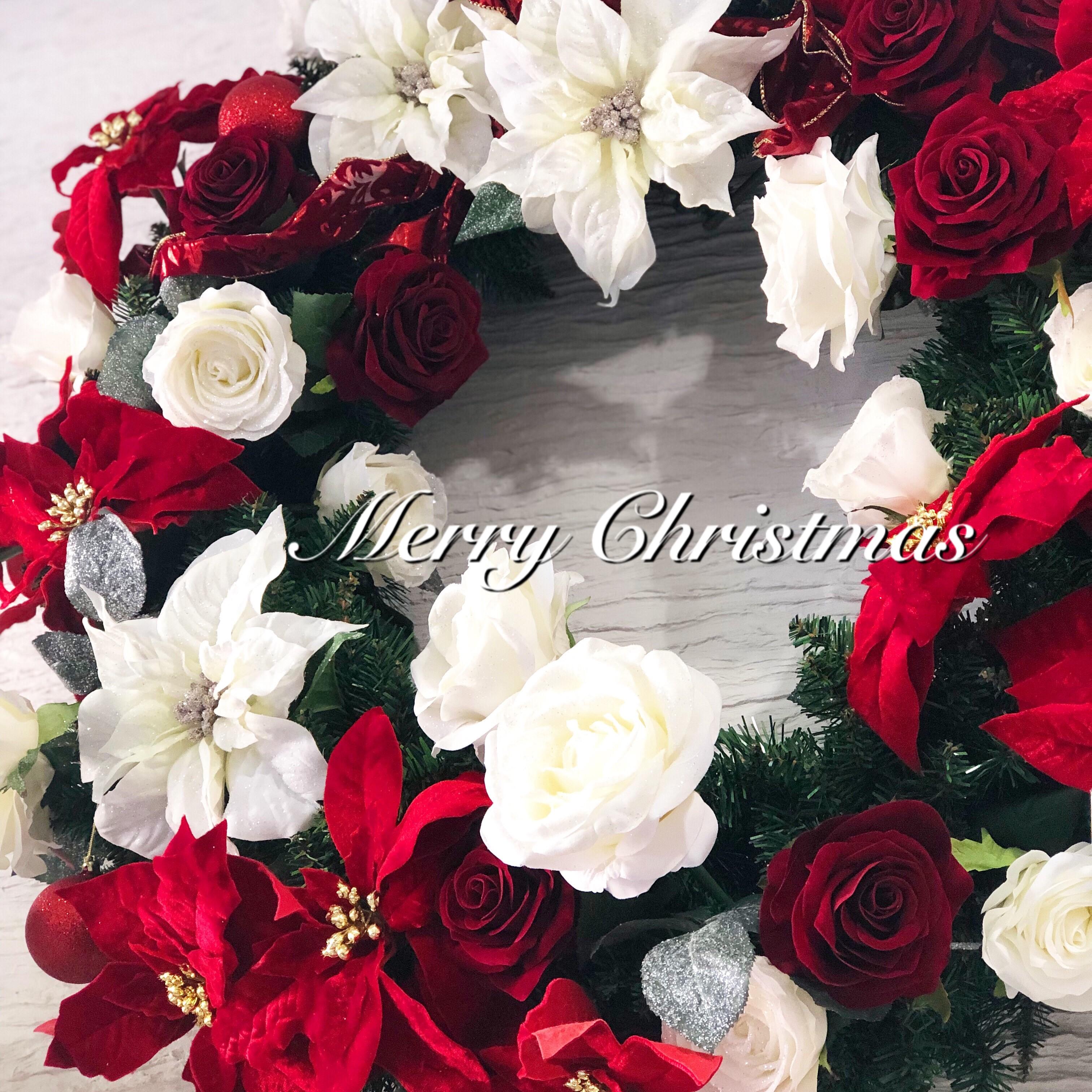 池袋 プリザーブドフラワー専門店 フラワーショップリズカ 2020 クリスマス クリスマス限定商品 店舗