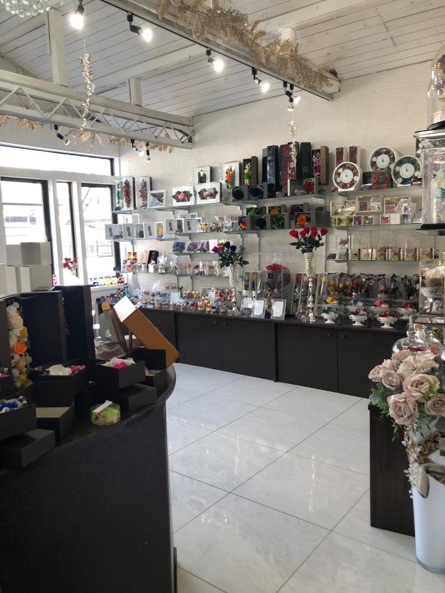 池袋 プリザーブドフラワー専門店 フラワーショップリズカ 2周年記念 店舗 限定